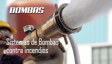 sistemas de bombas contra incendios