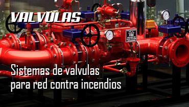 sistemas de valvulas para red contra incendios